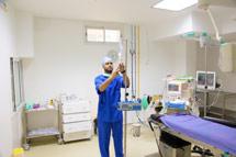 Bloc opératoire B - Clinique Saint-Augustain